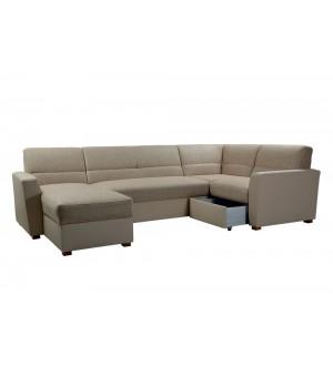 Угловой диван Виктория 3-1 с ящиком